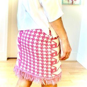 Bubblegum Pink Knit Skirt